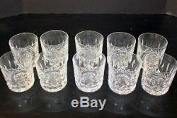 10 Waterford Crystal Lismore Double Old Fashioned Whiskey Rocks Glasses 9oz