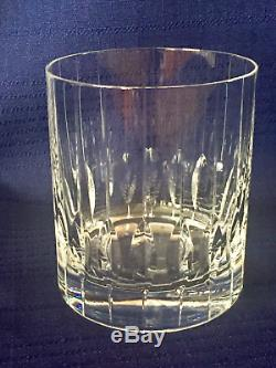 12 Mikasa Park Avenue Double Old Fashioned Rocks Crystal Glasses Tumblers TS115