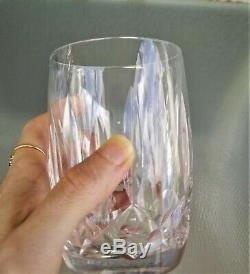 12oz Waterford Kildare Double Old Fashioned Glass Tumbler Crystal 4 1/2