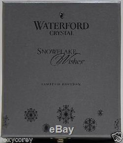2012 Waterford Crystal Snowflake Wishes for Courage Emerald Double Old Fashioned