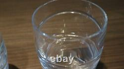 2 Jasper Conran Aura Double Old Fashioned Tumblers by Stuart Crystal 10.5cm tall