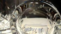 2 WATERFORD LISMORE TRADITIONS 14 oz. DOUBLE OLD FASHIONED GLASSES 4 1/4