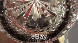 2 Waterford Clarendon Double Old Fashioned Glasses Ruby Red New In Original Box