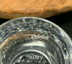 2 Waterford Crystal Colleen 4 3/8 Double Old Fashioned Tumblers Ireland XLNT