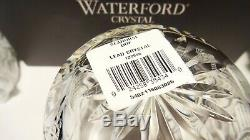 2 Waterford Crystal Seahorse Double Old Fashioned Tumbler Glasses Ireland In Box