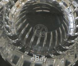 3 Baccarat France Art Glass Double Old Fashioned Tumblers in Harmonie