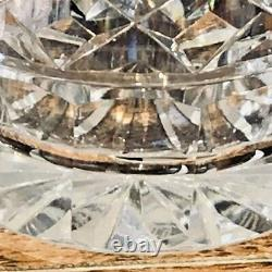 3 Elegant Waterford Crystal Lismore 4 3/8 Double Old Fashioned Tumblers. Signed