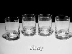 4 BACCARAT CRYSTAL 12 oz. DOUBLE OLD FASHIONED GLASSES MAYBE PERFECTION