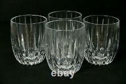 4 MIKASA Crystal PARK LANE Double Old Fashioned tumblers Rocks glasses