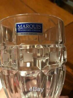 4 Marquis by Waterford Quadrata Double Old fashioned Glasses