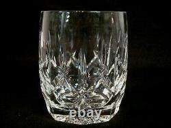 4 Matching Waterford Crystal Double Old Fashioned Glasses. Westhampton. 1998-17