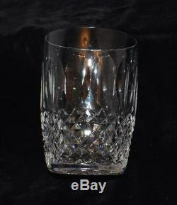 4 Vintage Waterford Crystal Colleen Double Old Fashioned/Tumbler Glasses -4.5H