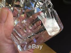 4 Vintage Waterford Crystal Lismore Double Old Fashioned Tumbler Glasses