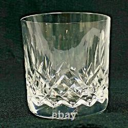 4 WATERFORD Crystal Lismore 3 3/8 Double Old Fashioned Tumbler 9oz IRELAND