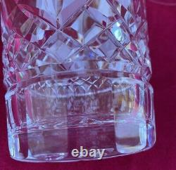4 Waterford Crystal Lismore 4 3/8 Double Old Fashioned Whiskey Tumbler Glasses