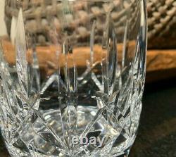 4 Waterford Westhampton 4 1/8 Double Old Fashioned Glasses Gothic Mark Ireland