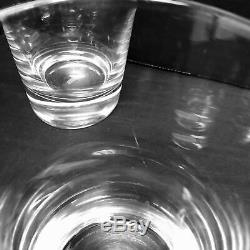 4 William Yeoward Maggie Double Old Fashioned Clear Glasses Tumbler