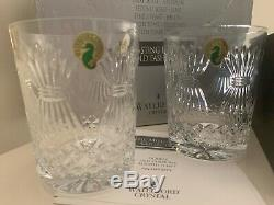 5 SETS of 2 x WATERFORD MILLENNIUM TOAST DOUBLE OLD FASHIONED DOF TUMBLERS NIB