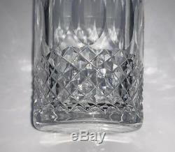 5 Vintage Waterford Colleen 12oz Double Old Fashioned Glasses Tumblers 4 3/8