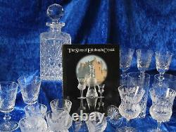6X Edinburgh Crystal Thistle Double Old Fashioned Tumbler 1st Quality Back stamp