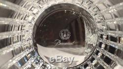 6 BACCARAT CRYSTAL HARMONIE DOUBLE OLD FASHIONED TUMBLERS 4 1/8 MINT 12.2 oz