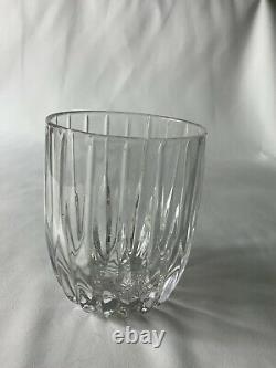 6 MIKASA Crystal PARK LANE Executive Double Old Fashioned Rocks glasses