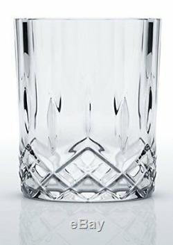 6 Pieces Home Kitchen Whiskey Bar Crystal Decanter Double Old Fashioned Glasses