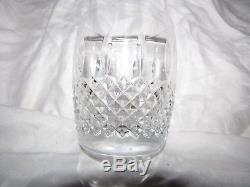 6 Waterford Crystal GLENMEDE Double Old Fashioned DOF