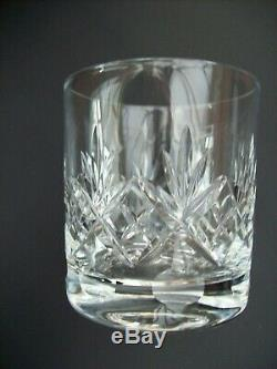 6 X Royal Doulton Crystal Georgian Double Old Fashioned Whisky Glasses