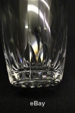 8pc Josair Josephine DORETTE Cut Crystal 4 Double Old Fashioned Rocks Glasses
