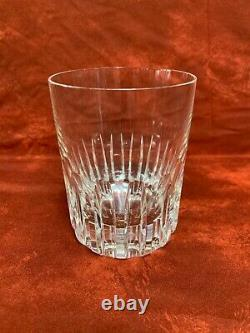 BACCARAT Rotary Double Old Fashioned Glass 4 1/8