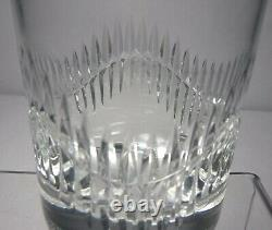 BACCARAT crystal SERPENTINE pattern Double Old Fashioned Tumbler 3-3/4