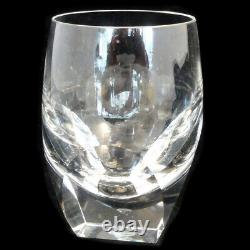 BAR by Moser Double Old Fashioned 4.75 tall NEW NEVER USED made Czech Republic