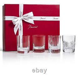 Baccarat 4 Elements 4-Piece Double Old-Fashioned Tumbler Set 2812728