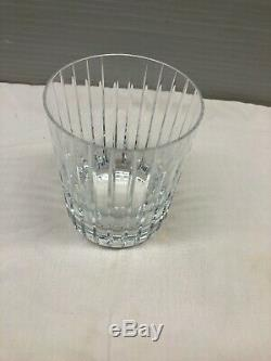 Baccarat Crystal Harmonie Double Old Fashioned Tumbler Glass 4-1/8
