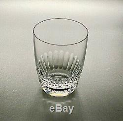 Baccarat Crystal Odeon Pattern Double Old Fashioned Glasses Set of 6