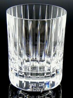Baccarat France Crystal Glass 4-1/8 HARMONIE DOUBLE OLD FASHIONED TUMBLER