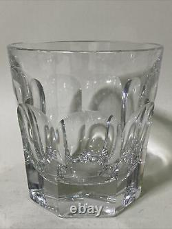 Baccarat France Crystal Harcourt Double Old Fashioned Tumbler 4 1/4