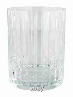 Baccarat HARMONIE 4-1/8 Double Old Fashioned Crystal Tumblers Set of TEN
