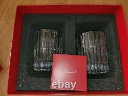 Baccarat HARMONIE Double Old Fashioned Crystal Tumblers, Set of 2