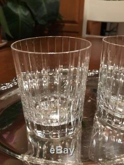 Baccarat HARMONIE Set Of Two Double Old Fashioned Crystal Glasses