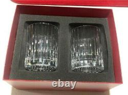 Baccarat Harmonie Double Old-Fashioned Crystal Tumblers 4 1/8