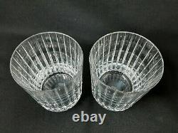Baccarat Harmonie Double Old Fashioned Whiskey Glasses (2)