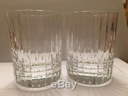 Baccarat Harmonie Double Old Fashioned Whiskey Tumblers