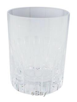 Baccarat Set of 5 Rotary Double Old Fashioned Glasses