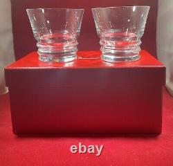 Baccarat Vega Double Old Fashioned NIB! MINT CONDITION