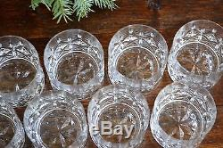 Block Crystal Double Old Fashioned Olympic Round Bowl tumbler Diamond Glass
