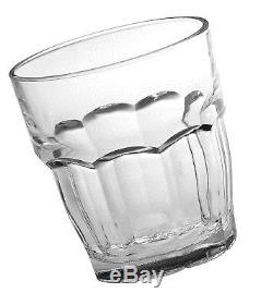 Bormioli Rocco Rock Bar Stackable Double Old Fashioned Glasses 13 1/4 Ounce S
