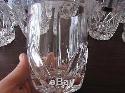 Brookside Large Set Of 12 Double Old Fashioned Glasses Marquis Waterford New Nib