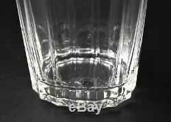 Dansk Oval Facette Double Old Fashioned Tumbler Glasses Jens Quistgaard Set of 4